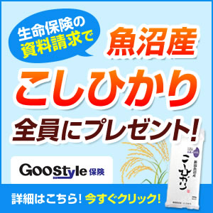 GooStyle生命保険比較【資料請求】PC用